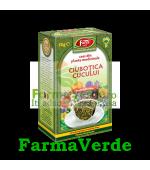 Ceai de Ciubotica Cucului Flori 50 gr Fares