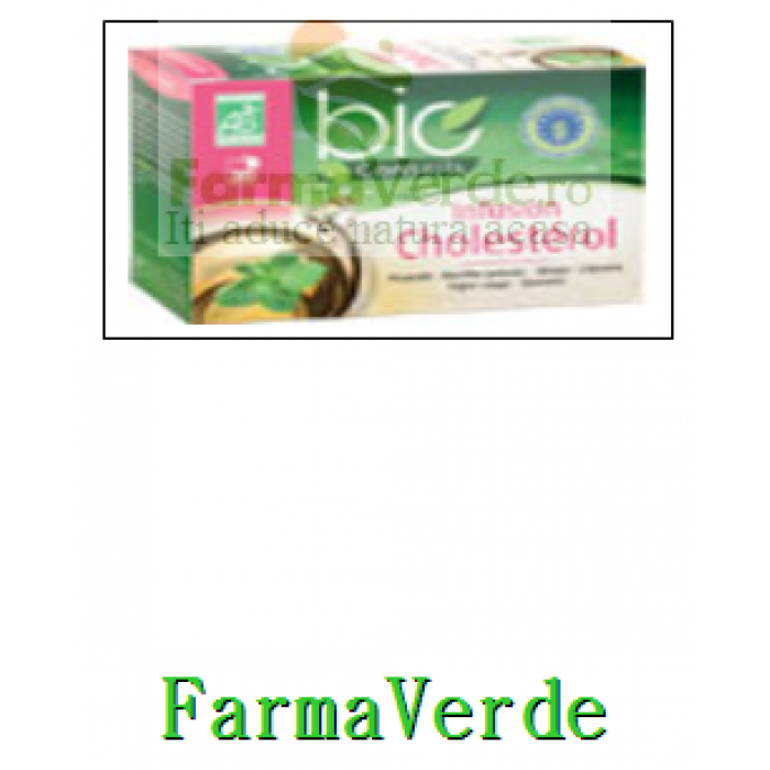 Ceai Bio Anti Colesterol 20 doze Vitarmonyl