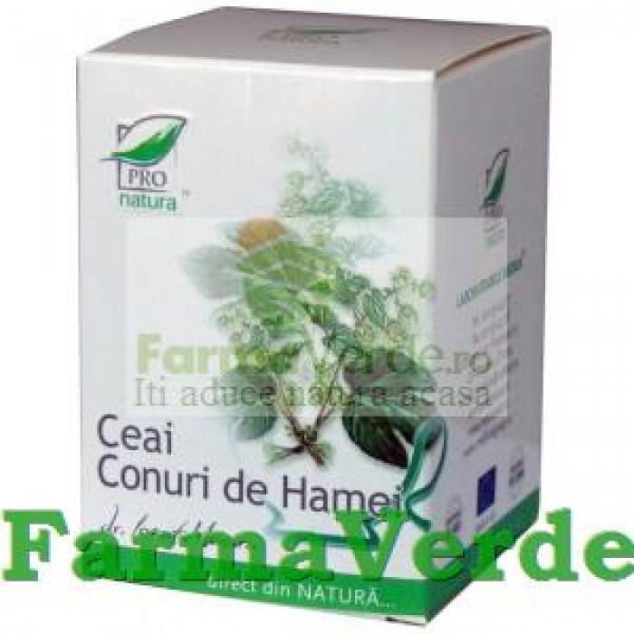 Ceai Conuri de Hamei 20 doze Medica ProNatura