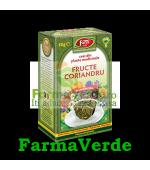 Ceai Fructe Coriandru 50 g Fares