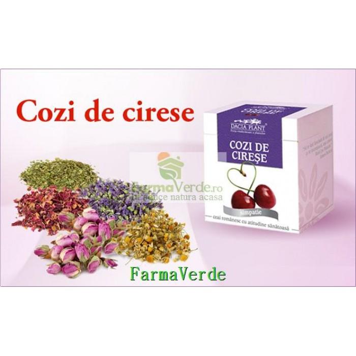 Ceai cozi de cirese - 50 g DaciaPlant