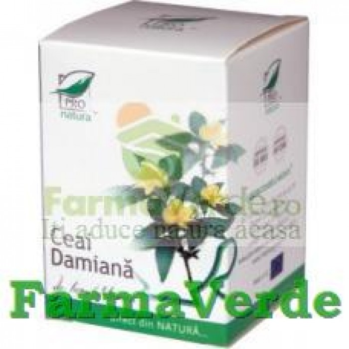Ceai Damiana 20 doze Medica ProNatura