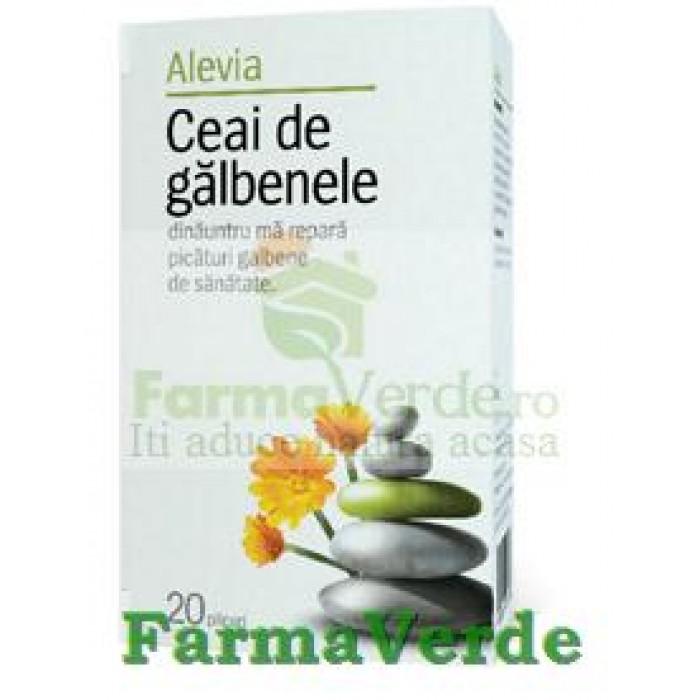 Ceai de Galbenele 50 gr Alevia