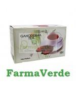 Ceai Ganoderma 20 plicuri in cutie BBM Medical