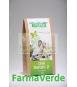 Ceai Hepatic 2 80 gr Plafar