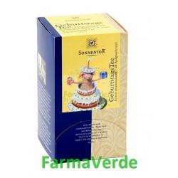 Ceai La Multi Ani! BIO 18 plicuri Sonnentor