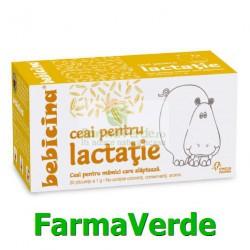 BEBICINA Ceai Pentru Lactatie 20 dz Hipocrate Omega Pharma