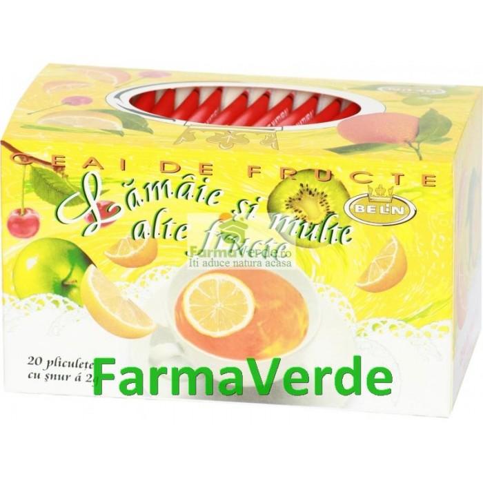 Ceai de Lamaie si Multe alte Fructe 20 pliculete a 2g Belin Nova
