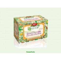 Ceai Natural Buna Dispozitie cu Lime si Mandarine 20 doze Fares