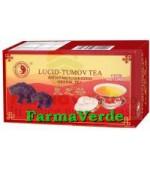CEAI LUCID-TUMOV Ceai cu Ganoderma Lucidum 20 plicuri Mixt Com