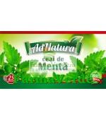 Ceai de Menta Frunze 20 plicuri Adnatura Adserv
