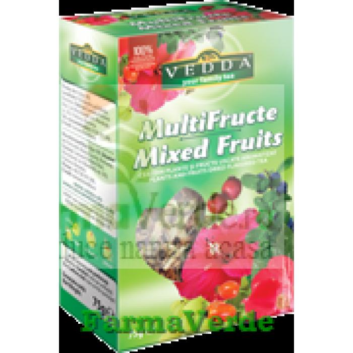Ceai Multifructe 75 gr Vedda