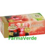 Ceai Multivit ( 10 vitamine ) 20 pliculete a 2g Belin Nova Plus