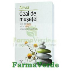 Ceai Musetel 20 doze Alevia