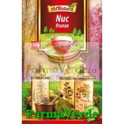 Ceai Nuc Frunze 50G Adserv Adnatura