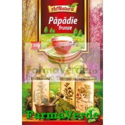 Ceai Papadie Frunze 50Gr Adserv Adnatura