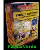 Ceai pentru Paraziți Intestinali 180g Faunus Plant