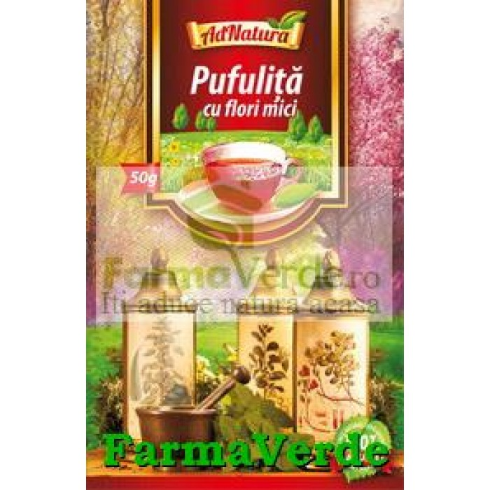 Ceai Pufulita Iarba 50 Gr Adserv Adnatura