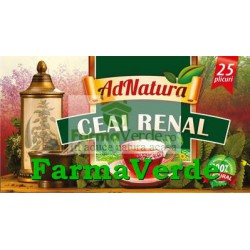 Ceai Renal 25 doze Adserv Adnatura