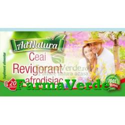 Ceai Revigorant Afrodisiac 25 doze Adnatura