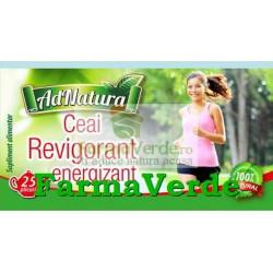 Ceai Revigorant Energizant 25 doze Adnatura