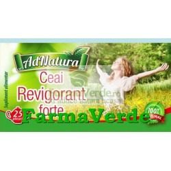 Ceai Revigorant Forte 25 doze Adnatura Adserv