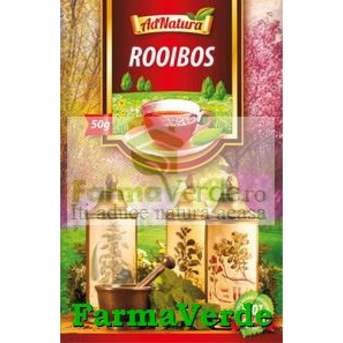 Ceai Rooibos 50 gr Adnatura Adserv