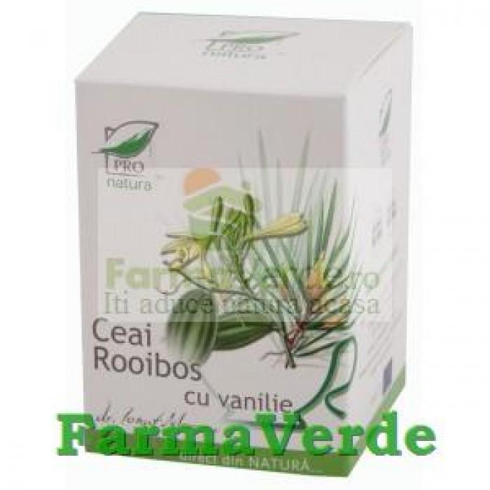 Ceai Rooibos & Vanilie 20 doze Medica ProNatura