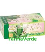 Ceai de Salvie 20 pliculete 1.8g Belin Nova Plus