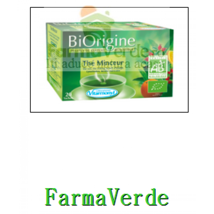 Ceai de Slabit Bio Minceur 20 doze Vitarmonyl