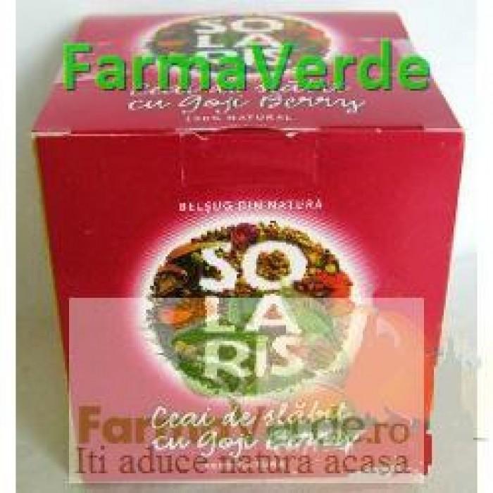 Ceai De Slabit Goji Berry 20dz*2gr 40 gr Solaris Plant