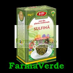 Ceai Iarba de Sulfina 50 g Fares