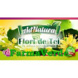Ceai de Tei Flori 25 plicuri Adnatura Adserv