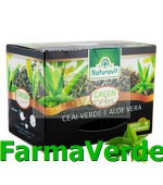 Ceai Verde cu Aloe Vera 15 dozeX 1,5 gr Naturavit