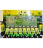 NOU! EXTRACT de Ceai Verde si Panax Ginseng 10 Fiole Sanye L&L