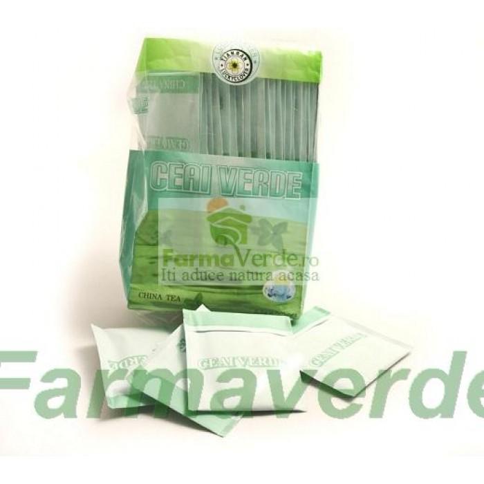 Ceai Verde la Plic ( 50 x 2,5 gr) Sanye