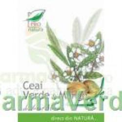 Ceai Verde & Mango 20 doze Medica ProNatura