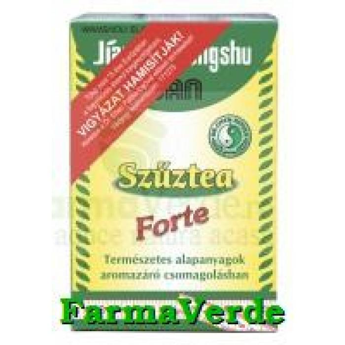 Virgin Forte Ceai Slabire 15 doze Mixt Com Dr Chen Patika