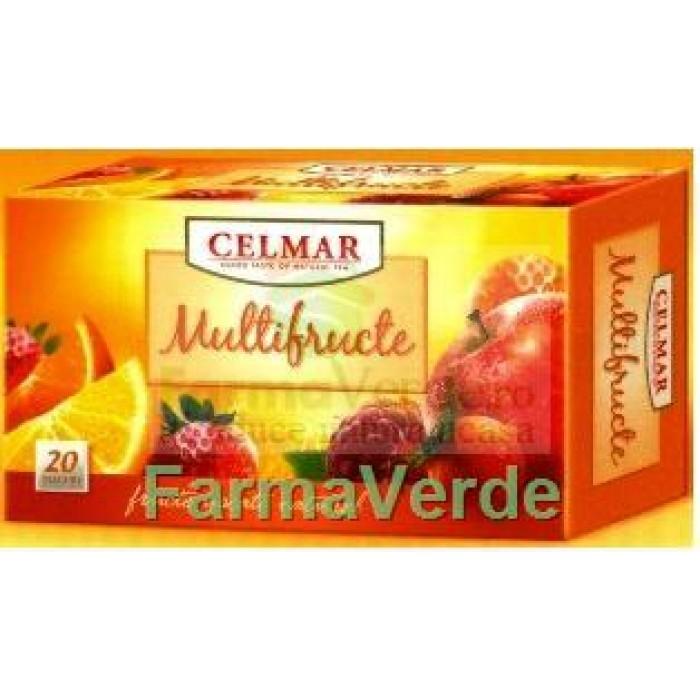 Ceai Multifructe 20 Dz Celmar