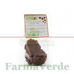 Cercuri de ciocolata cu alune turcesti 100 gr Bio Zona