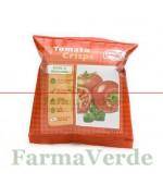 Chips de rosii Crispy Natural cu busuioc si oregano 15g Bio Zona