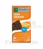 Damhert Ciocolata neagra cu portocale fara zahar cu tagatoza 85g