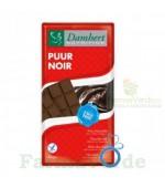 Damhert Ciocolata neagra fara zahar cu tagatoza 85 gr
