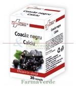 Coacaz Negru + Calciu 30 cps Farma Class