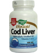 Cod Liver Oil 100Cps Nature's Way Secom