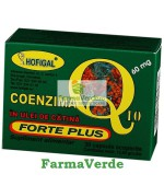 Coenzima Q10 in Ulei de Catina Forte Plus 60 mg Hofigal