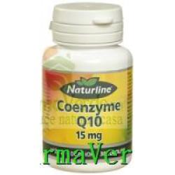 Coenzima Q 10 15 mg 30 cps Naturline Walmark