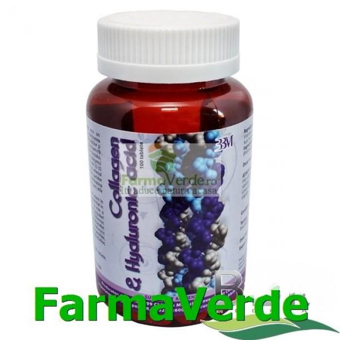 Collagen&Hyaluronic Acid 100 tablete BBM Medical