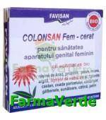 Colonsan FEM CERAT Supozitoare 15,6gr Favisan