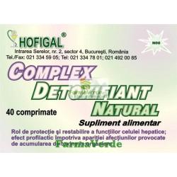 Complex Detoxifiant Natural 40 Cpr Hofigal